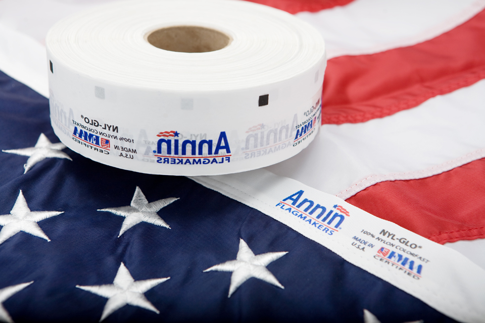 Annin Flagmakers Trusts Kaumagraph for Heat Transfer Labels